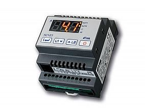 Type AC-27 - Digital temperature controller and rail installation