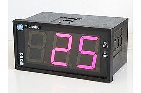 Type M3D2 - 3 digit digital display