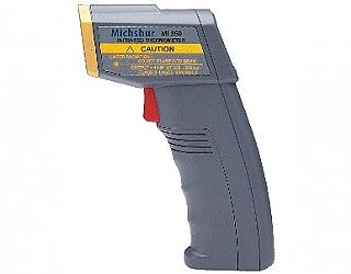 Type MI-350 - Portable contactless thermometer with laser marker