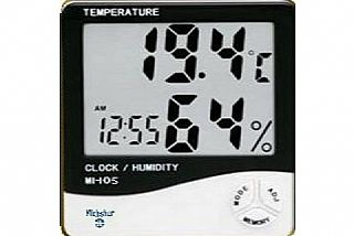 Type MI-105 - Thermometer, humidity with digital clock